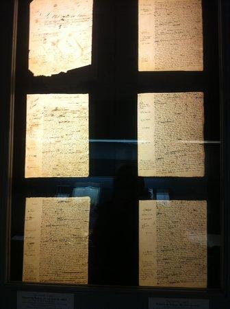 Sache, ฝรั่งเศส: brouillon de Balzac