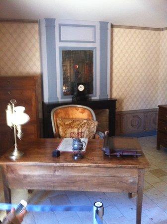Sache, Fransa: bureau de Balzac