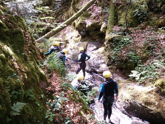 "Kintzheim, France: marche aquatique : canyon ""le seebach"""