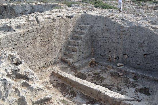 Falassarna, Greece: дом в скале