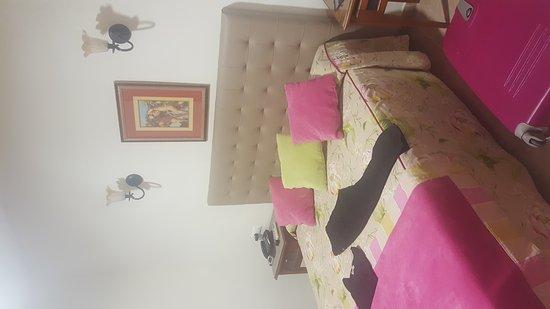 Antigua Morellana HS: Camera e vista dal balconcino
