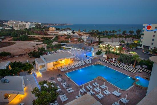 Atlantica Suneoclub Sancta Napa Hotel Bird S Eye View
