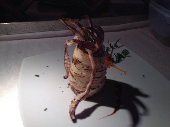 Calamaro alla griglia