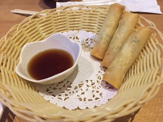 Fuki Sushi Bar: Imperial rolls
