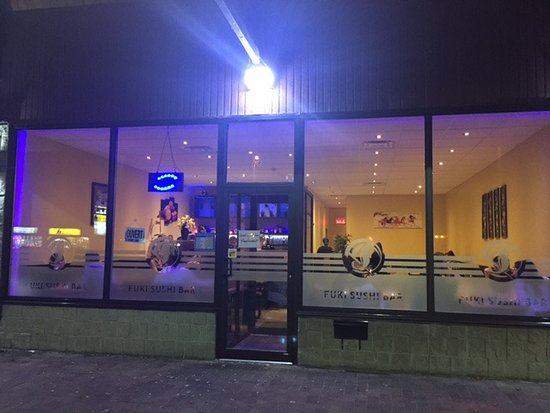 Fuki Sushi Bar: View from the outside
