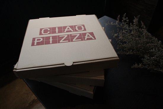 ciao pizza deliver via line man and foodpanda