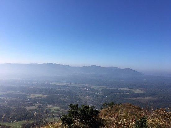 Chugoku, Jepang: 上蒜山中腹からの絶景