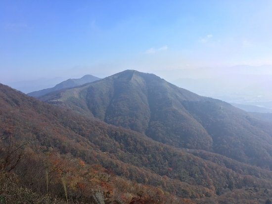 Chugoku, Japan: 上蒜山から見た中蒜山