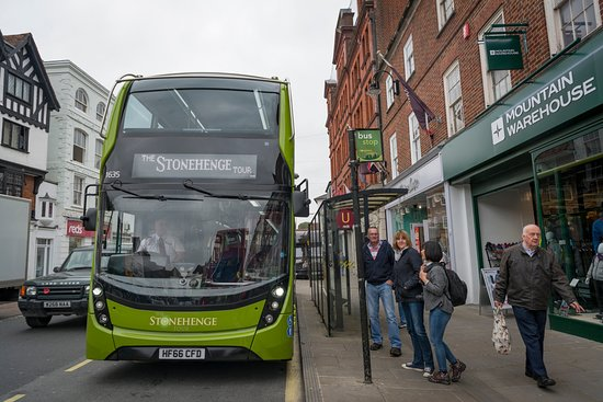 the stonehenge tour catch the bus from stand u on new canal salisbury