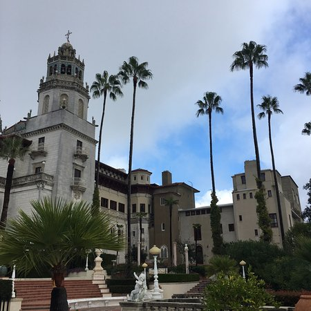 One of Two of Hearst Castle Towers