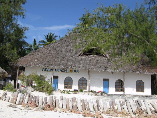 Ndame Beach Lodge Zanzibar: Bâtiment du restaurant