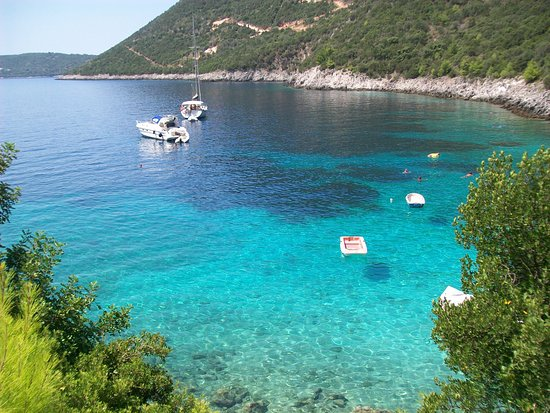 Αφτέλι παραλία: Afteli beach, Lefkada... amazing and stunning view!