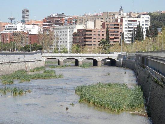puente del rey madrid rio