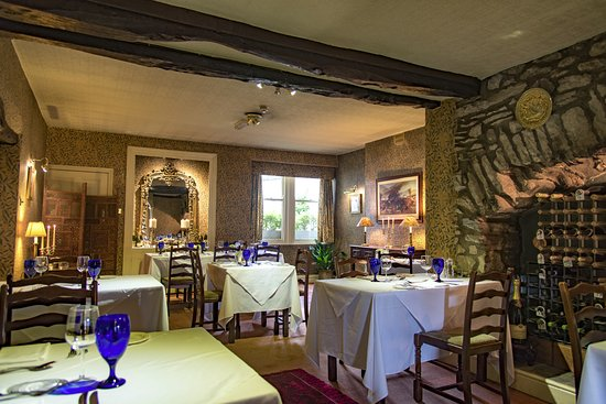 Austwick, UK: The main dining room - The Traddock