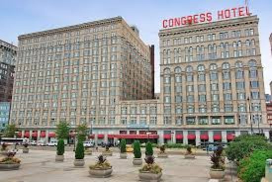 The Congress Plaza Hotel And Convention Center On South Michigan Ave
