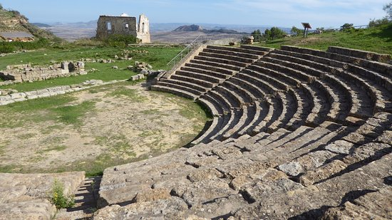 Aidone, Italia: The Greek theatre