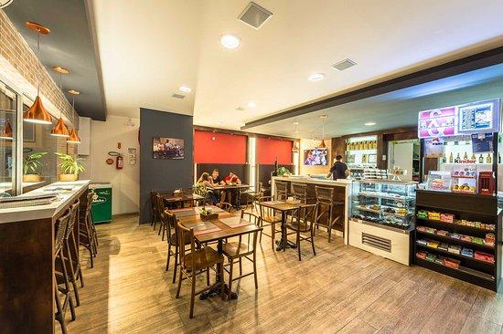 Cine Café & Creperia: Foto Interna da Loja
