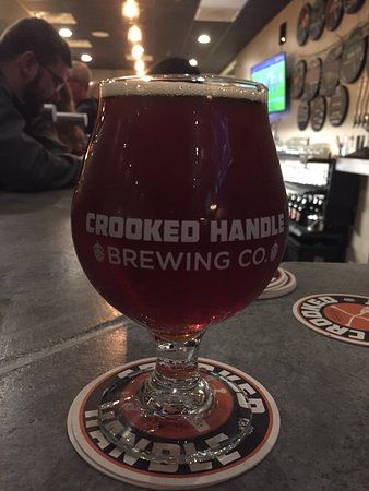 ‪‪Crooked Handle Brewing Co.‬: Pumpkin Beer....Yummy!‬