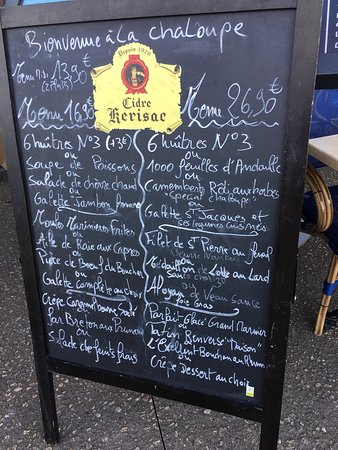 Vue du restaurant bild von la chaloupe le croisic for La chaloupe le croisic