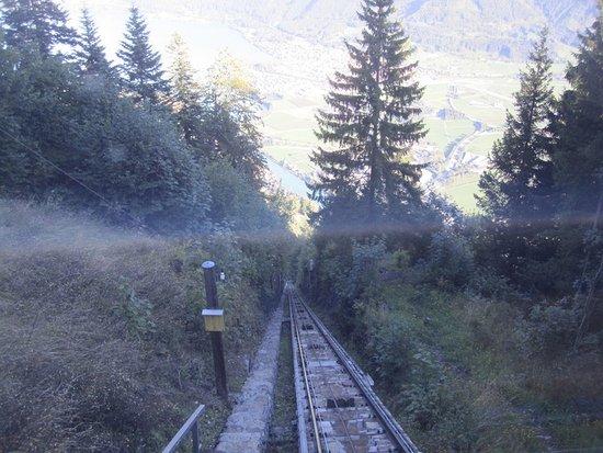 Heimwehfluh: Дорога вверх