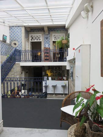 Gallery Hostel: Le bar