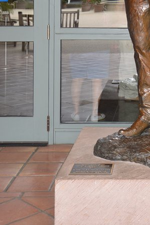 Simi Valley, CA: Sculpture Ronald Reagan