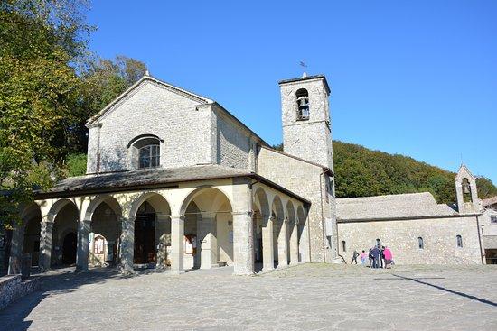 Chiusi della Verna, อิตาลี: Santuario della Verna