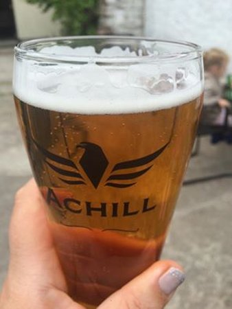 Achill Beer at The Valley House Achill Island, Co. Mayo Ireland
