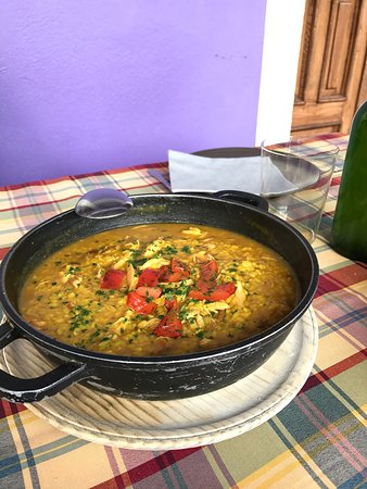 Quintueles, Spain: Arroz con Pitu , se sale !!!!