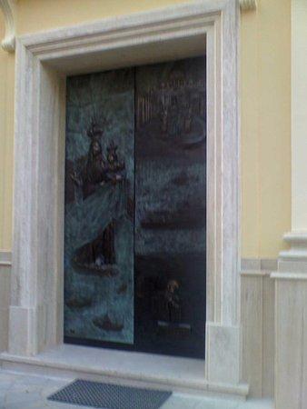 Santuario Santa Maria a Mare : portale