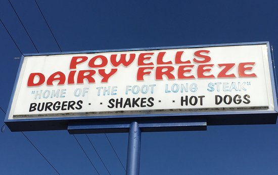 Starke, FL: Powell's Dairy Freeze