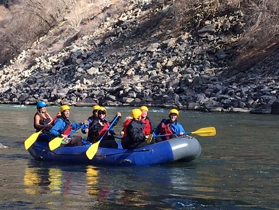 Glenwood Adventure Company: Rafting in Nov - sounds crazy but I highly recommend it. Best team building activity!