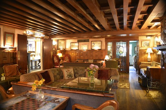 Tabard Inn: In our cozy lounge, where people minngle, sip and/or listen to live jazz.