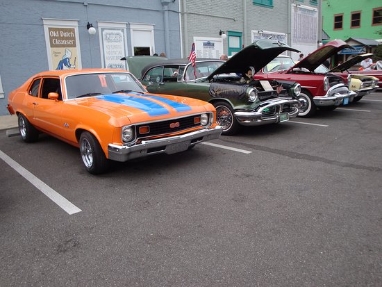Classic Car Show Old Town Go Cart Track Behind Picture Of Old - Kissimmee car show saturday