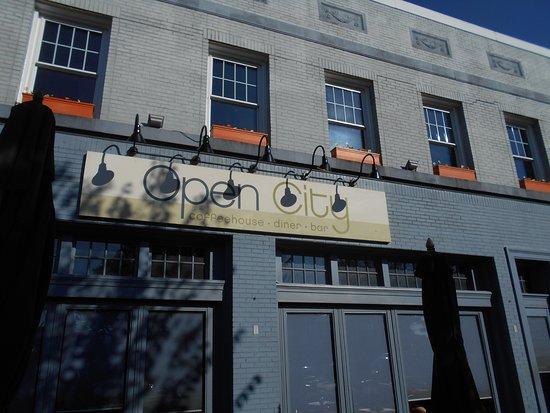 Open City exterior
