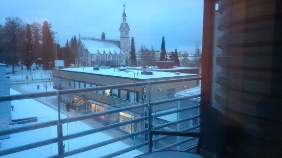 Kajaani, Finlandia: Näkymä kirkolle