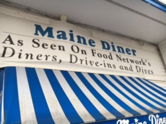 Maine Diner: Diners, Drive-Ins and Dives Restaurant.