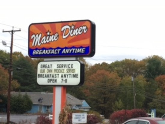 Maine Diner: Breakfast Anyytime!