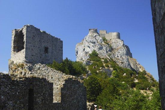 Duilhac-sous-Peyrepertuse, فرنسا: Het kasteel