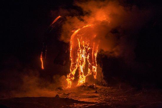 Pahoa, Hawái: Lava Flows