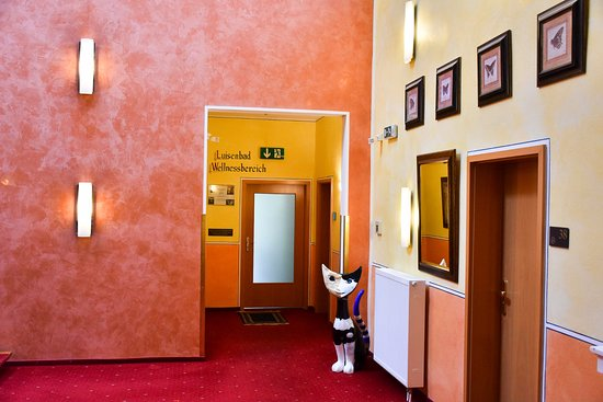 Ruhla, Germany: Hotel Halle Eingang Wellness Bereich