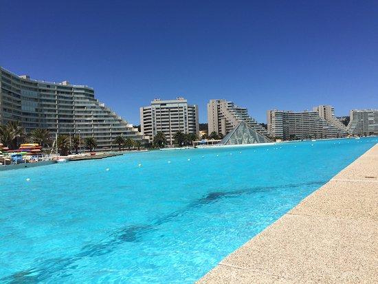 San Alfonso del Mar: Simplemente increíble! Son casi 2k de piscina siendo la más grande del mundo por récord Guinness