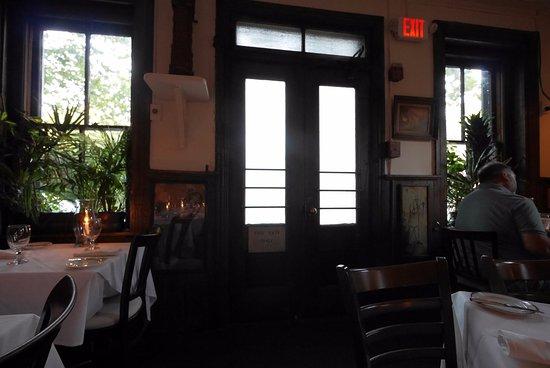 แลมเบิร์ตวิลล์, นิวเจอร์ซีย์: Front door (not used).