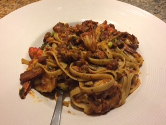 California Pizza Kitchen: Jambalaya Fettucini