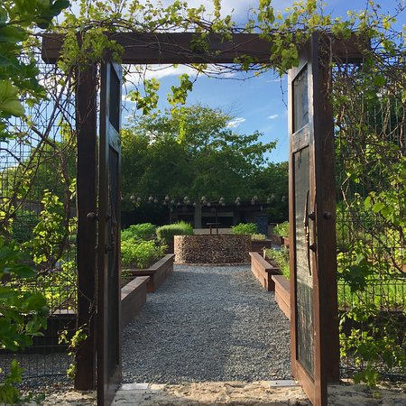 Rosewood Mayakoba: The entrance to the chef's garden