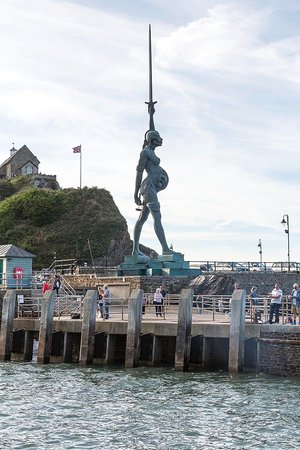 Ilfracombe, UK: Verity from the sea