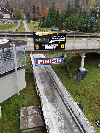 Bobsled and Luge Complex: The FInish Line