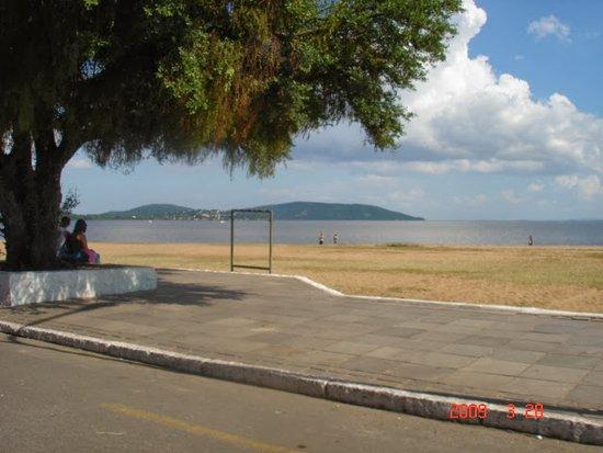 Bundesstaat Rio Grande do Sul: Melhor visão do Rio encontrando o mar