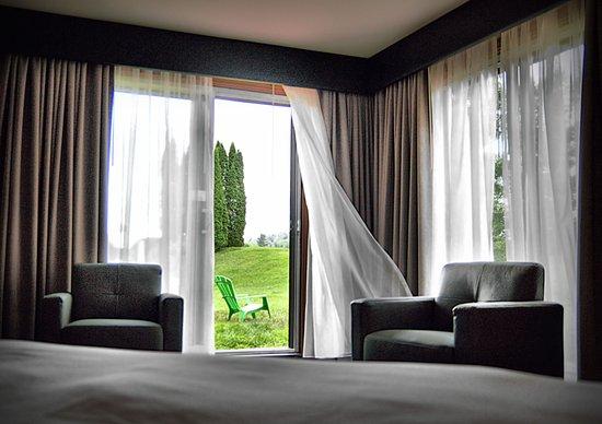 Grenville-sur-la-Rouge, Kanada: Nos chambres ont une super  vue sur le golf