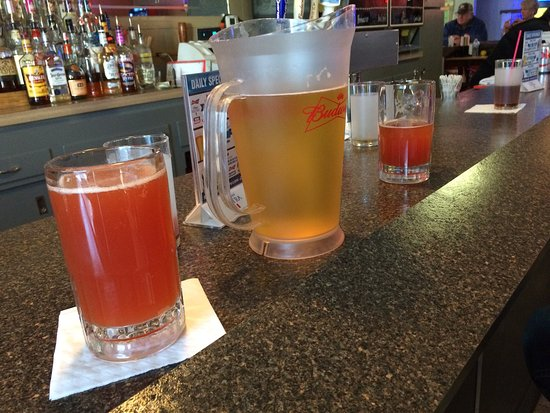 Bismarck, ND: Great downtown dive drinking. $7 pitchers all day!